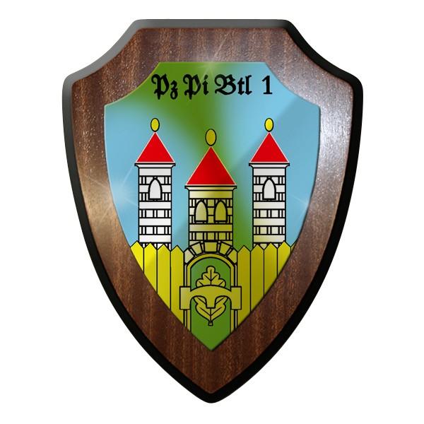Wappenschild - PzPiBtl 1 Panzer Pionier Bataillon 1 Pioniere Bundeswehr #9268