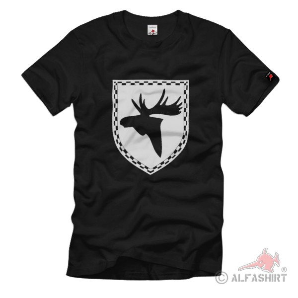 Elch North Germany Province Coat of Arms Symbol T Shirt # 1488