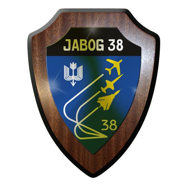 Wappenschild - JaboG 38 Jagdbomber Geschwader Luftwaffe Bundeswehr Bund Bw #8863