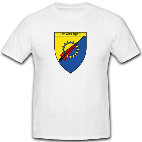 LwVersRgt 8 - Luftwaffen Versorgungs Regiment 8 Bundeswehr - T Shirt #12033