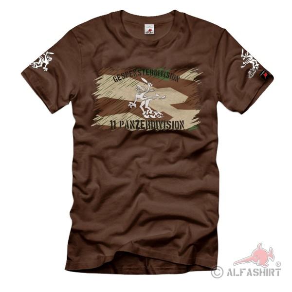 11 Panzerdivision Gespenster Division Truppenkennzeichen Heer T-Shirt #36147
