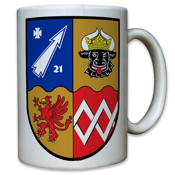 Wappen Flarak 5 21 Flugabwehr Raketen Kompanie Bataillon Schützen - Tasse #11810