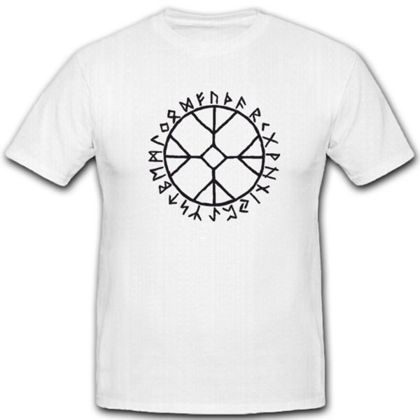 Skrackhjalm Runen Wikinger Mysterium Geschichte Wikingerzeichen - T Shirt #4351