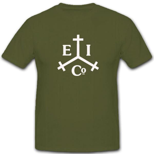 East India Trading Company Piraten Logo Wappen Abzeichen - T Shirt #4049