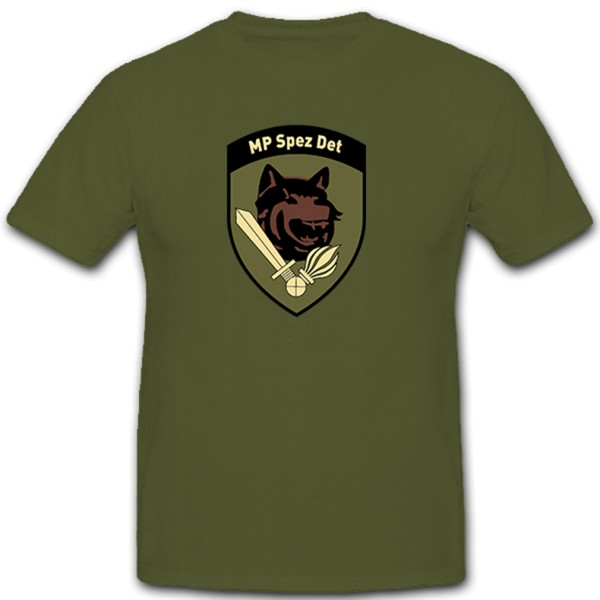 MP Spez Det Militär Militärpolizei Polizei Spezial Detachement - T Shirt #10263