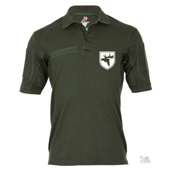 Tactical polo shirt Alfa moose mine search squadron BW Marine head # 19396