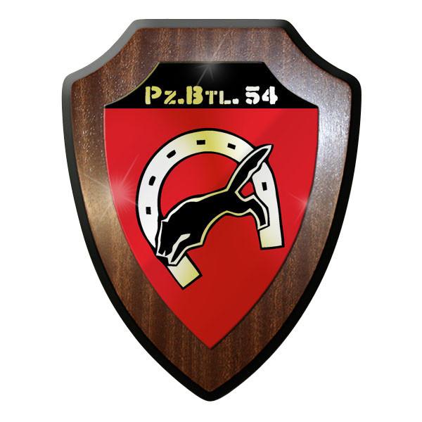 Wappenschild / Wandschild / Wappen - Panzerbataillon 54 PzBtl Bw Bundeswehr#9004