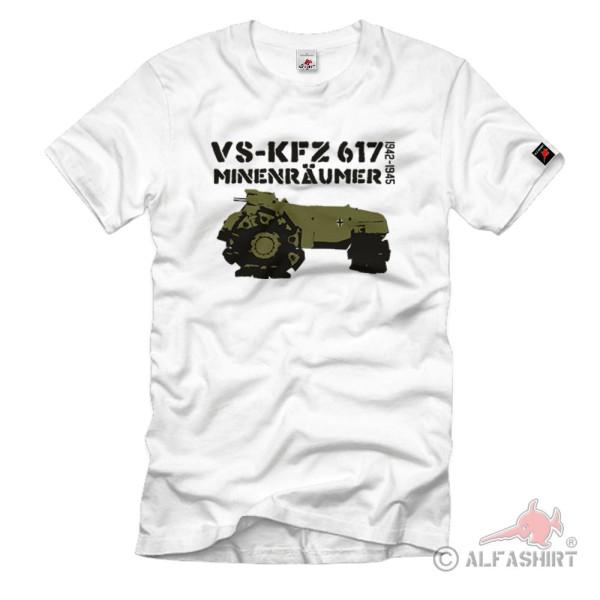 Alkett mine clearance tank VsKfz 617 Stampfer mine roller special tank T-shirt # 1071