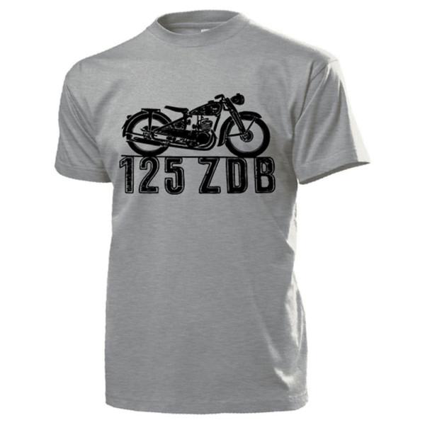 125 ZDB Motorrad Oldtimer Maschine Sammler - T Shirt #14222