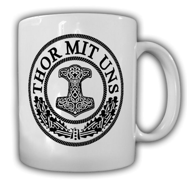 Thor mit uns Thors Hammer Mjölnir Wikinger Gott Germanen Wh Wk #13975