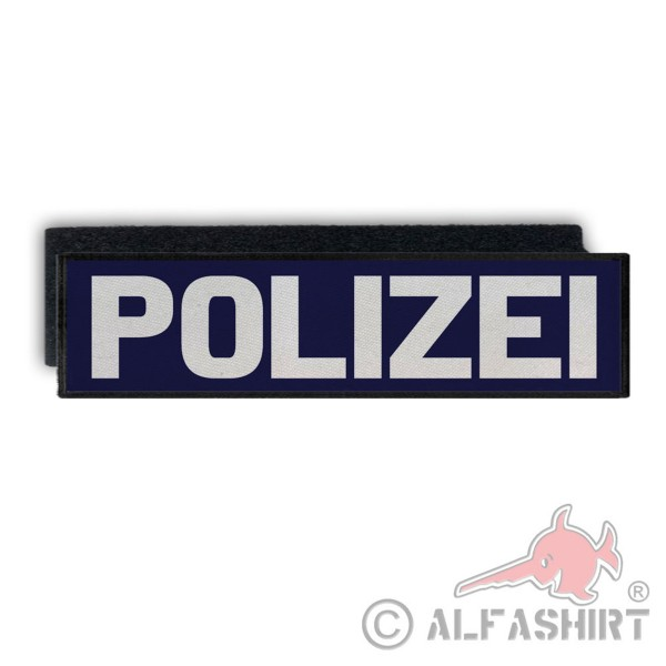 Back patch police blue light thinblueline police Berlin Cops Bund # 33498