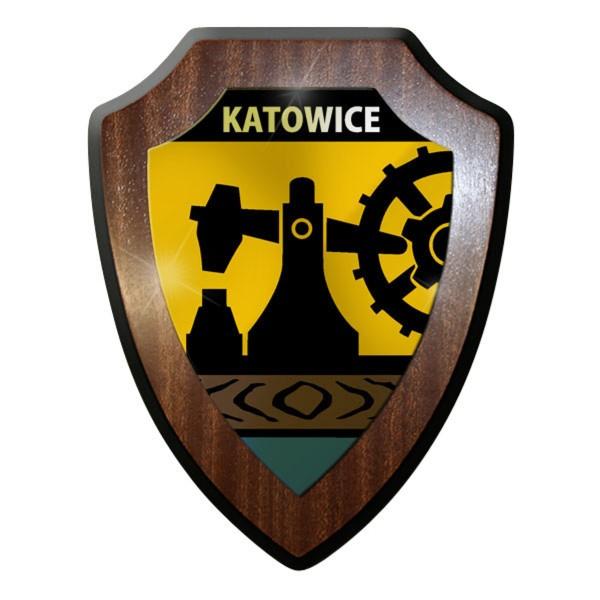 Wappenschild / - Katowice Polen Stadt Heimat #9045
