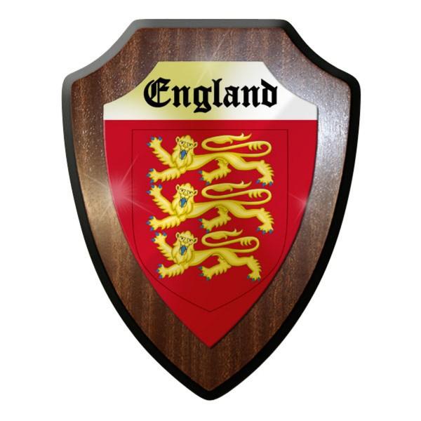 Wappenschild / Wandschild - Wappen England Briten Royal Army Groß #11897
