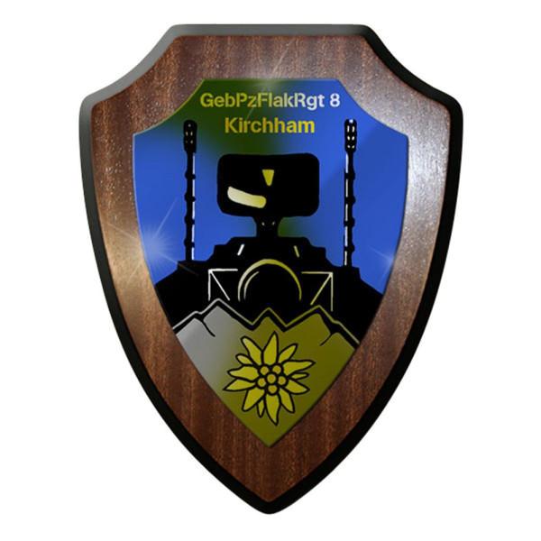 Wappenschild / Wandschild - GebPzFlakRgt 8 #12557