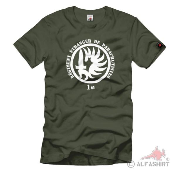 Paratrooper Foreign Legion Regiment 1e Régiment Étranger - T Shirt # 1187