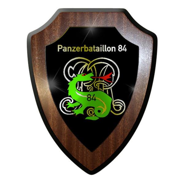 Wappenschild / Wandschild / Wappen - Panzerbataillon 84 PzBtl Bw Heer #8350