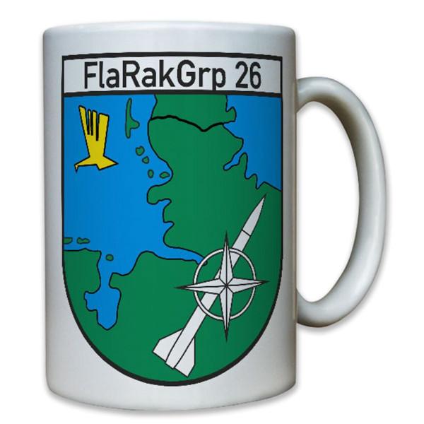 FlaRakGrp 26 Flugabwehrraketengruppe Rakete Bundeswehr Bw Luftwaffe Tasse #8211