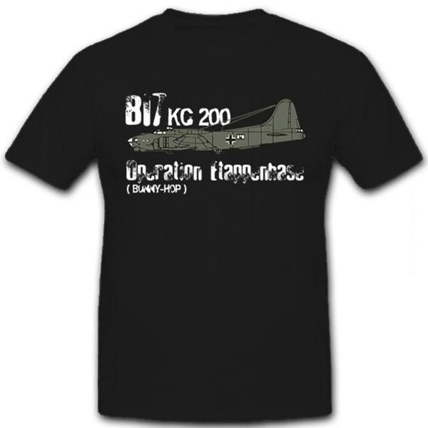 Operation Etappenhase-Bunny-Hop KG200 B17 Flying Dora Luftwaffe- T Shirt #12951