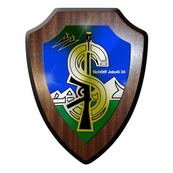 Wappenschild / Wandschild / Wappen -Sichstff Jabog 34 Allgäu 7970
