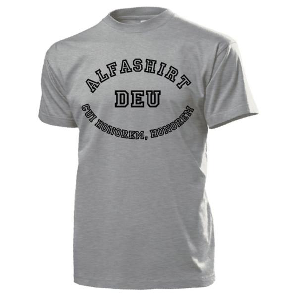 Alfashirt DE Cui honorem honorem Ehre Vaterland Rom Krieg Sieg - T Shirt #14581