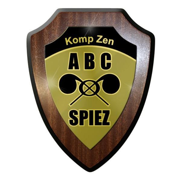 Wappenschild - Kompetenzzentrum ABC KAMIR der Armee Schweizer Armee Atom #11921