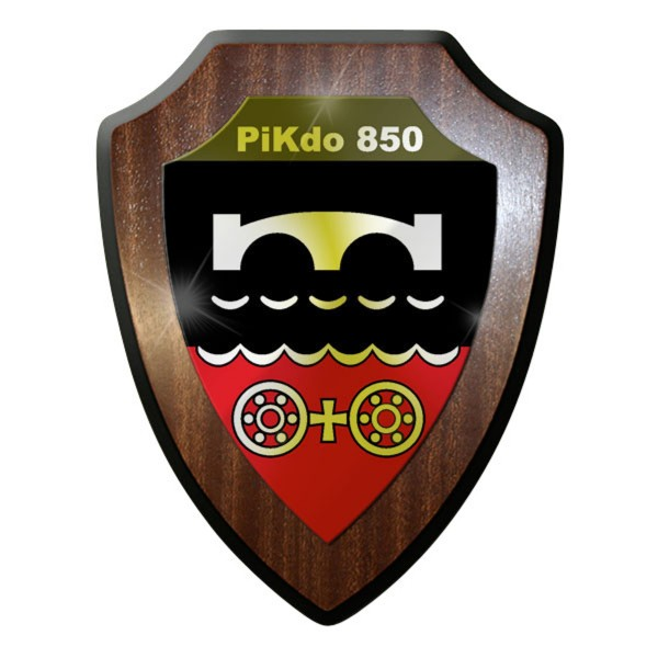 Wappenschild - PiKdo Pionierkommando Pioniere Kommando Spezialkräfte #10059