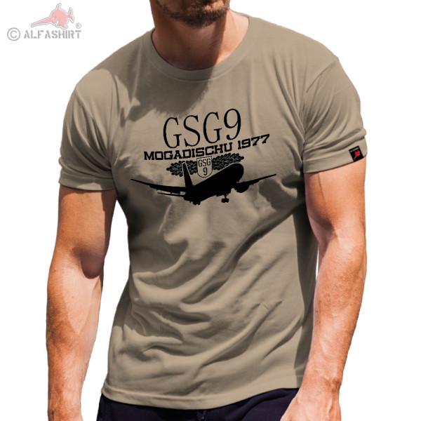 GSG9 Mogadischu 1977 Operation Zauberfeuer Flugzeugentführung T Shirt #4727