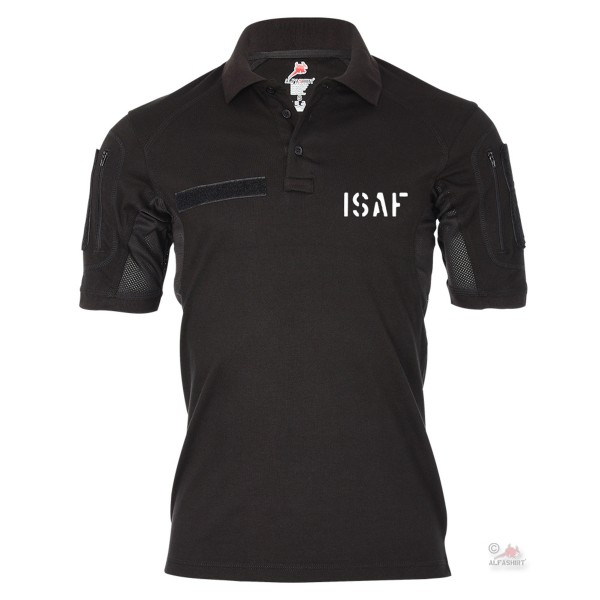 Tactical polo shirt Alfa ISAF foreign deployment Bundeswehr Soldier Reservist # 19089