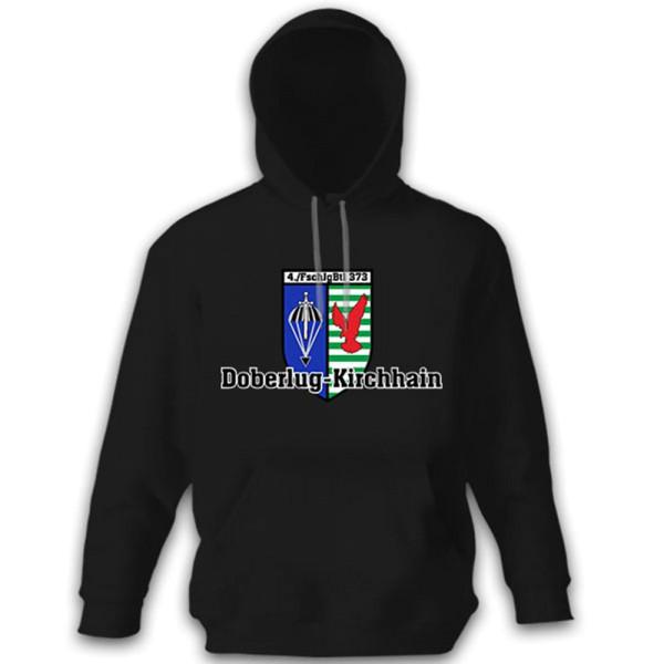 4 Kompanie FschJgBtl 373 Fallschirmjägerbataillon Wappen Kapuzenpullover #13624