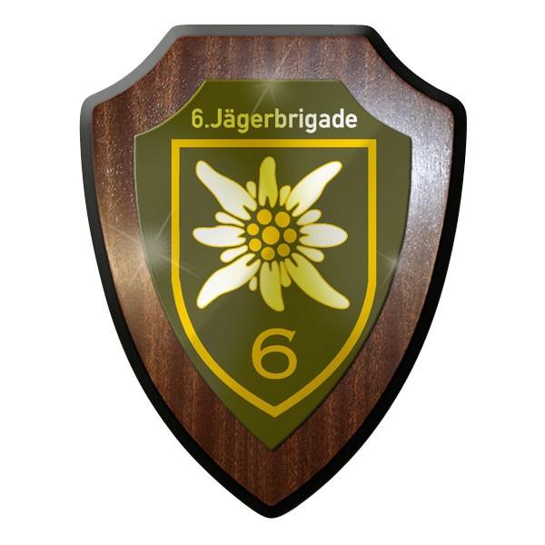 Wappenschild / Wandschild - 6. JgBrig Jägerbrigade Brigade Austria #10071