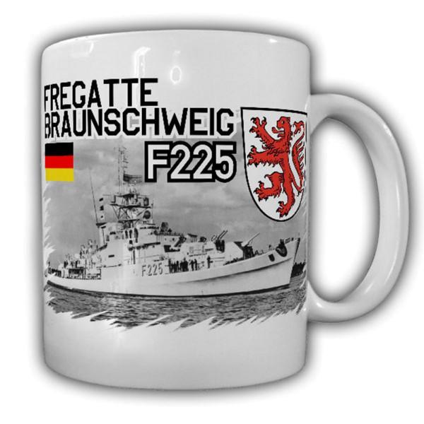 Fregatte Braunschweig F225 Bundesmarine Bundeswehr Schiff Tasse #13347