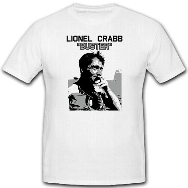 Lionel Buster Crabb_britischer Royal Navy Froschmann MI6 - T Shirt #12945