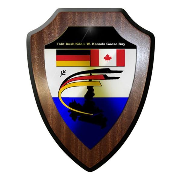 Wappenschild / Wandschild / Wappen - Goose Bay Kanada Canada Taktisches Bw #8384
