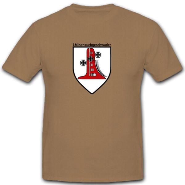 Minensuchgeschwader Bundesmarine Deutschland Minenstreitkräfte - T Shirt #3843