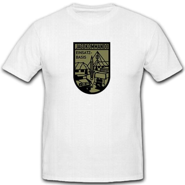 Jagdkommando Einsatzbasis Bundesheer Austria Military Coat of Arms - T Shirt # 11235