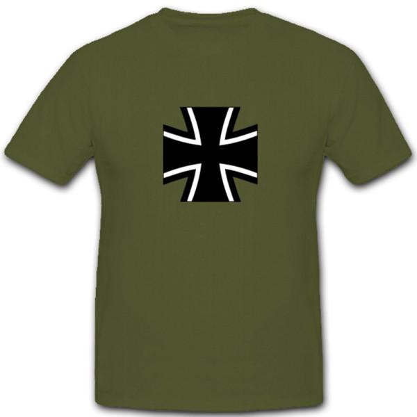 Bundeswehr Kreuz BW EK Deutsches Militär Armee Heer - T Shirt #4708