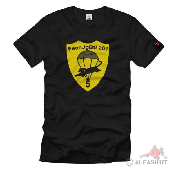 FschJgBtl 261 Fallschirmjägerbataillon Btl Lebach BW - T-Shirt # 1207