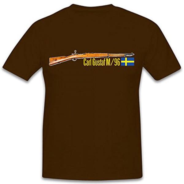 Carl Gustaf M96 Gewehr Schweden Waffe Deko Sammler - T Shirt #10433