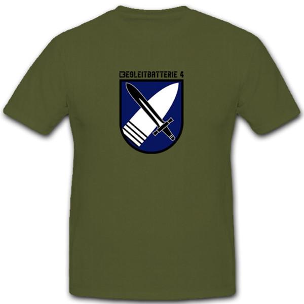 Begleitbatterie BglBttr 4 Bundeswehr Bund Bw Deutschland Wappen - T Shirt #11216
