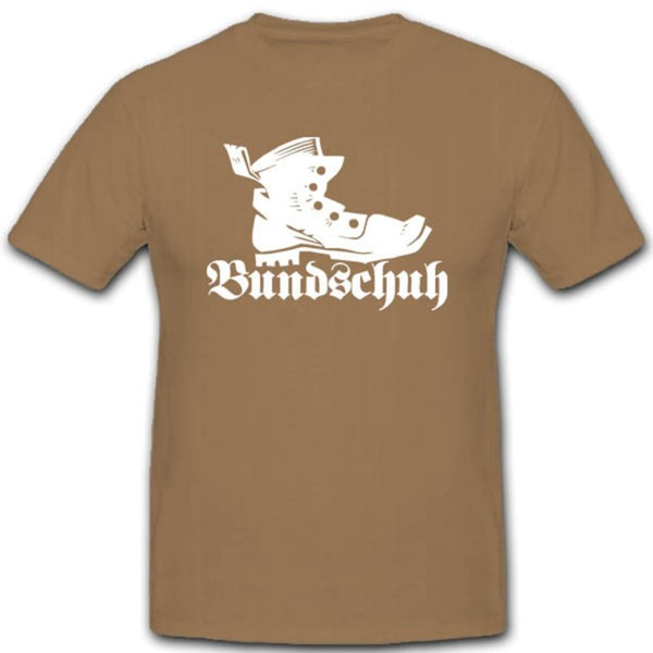 Bundschuh Bundeswehr Bekleidung Kampfstiefel Knobelbecher - T Shirt #2901