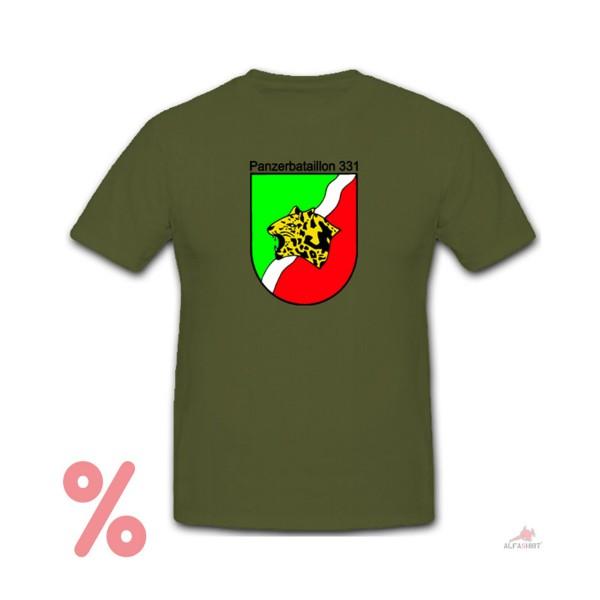SALE Shirt Tank Battalion 331 Bundeswehr Tank Pzbtl331 - T Shirt # R682