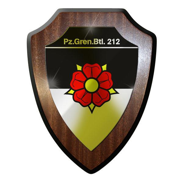 Wappenschild / Wappen - Panzergrenadierbataillon 212 Panzer Leopad #8805