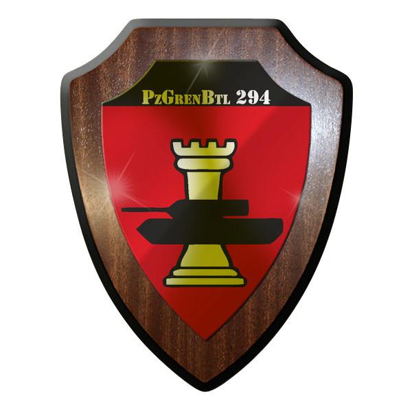 Wappenschild - PzGrenBtl 294 Panzergrenadierbataillon Grenadiere #8842