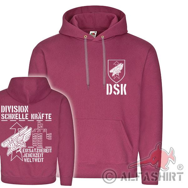 DSK Division Schnelle Kräfte BW Einheit Abzeichen KSK Brigade Hoodie #17938