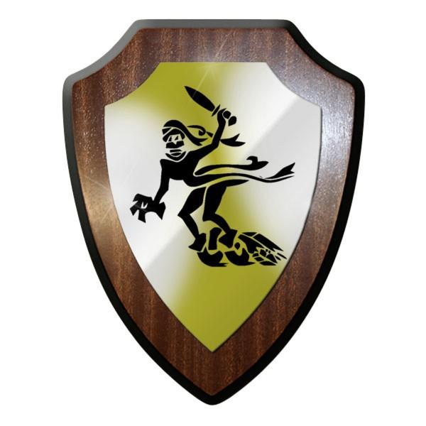 Wappenschild / Wandschild / - Gespensterdivision Geisterdivision 11 #8928