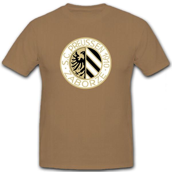 SC Preußen 1910 Hindenburg Zaborze - Rasenspiel Fußball Sport - T Shirt #12391