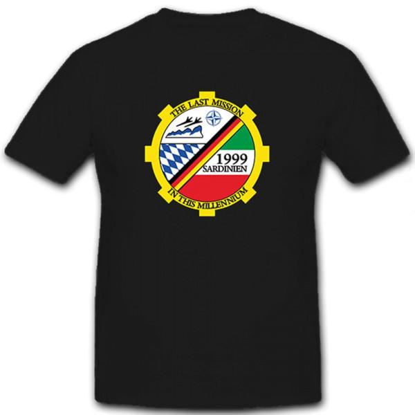 The Last Mission in the Milennium 1999 Sardinien NATO Jabo G 34 - T Shirt #8722