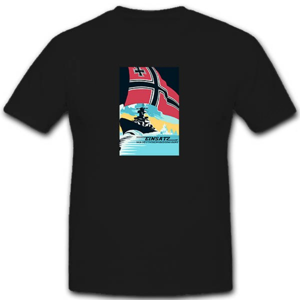 Use of the German Navy - T-shirt # 10674