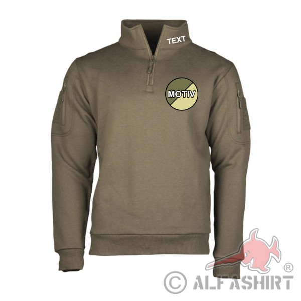 Tactical Sweatshirt Name Logo Bundeswehr Security Pullover personalisiert #35718