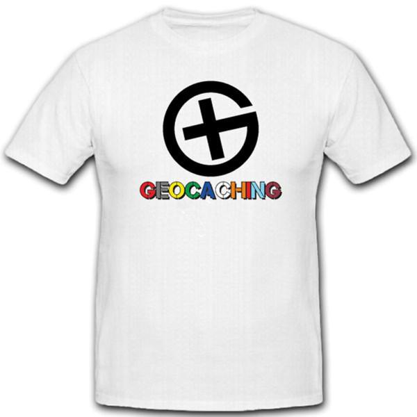 Geocaching Outdoor GPS Treasure Hunt Scavenger Geocache Shirt - T Shirt # 11188